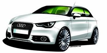 De son côté, Audi met en avant l'A1 e-Tron, avec un mode de recharge original : sur secteur en « plug in » ou par un petit moteur monorotor Wankel de 254 cm3 faisant office de générateur.