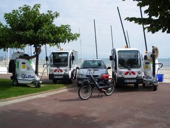 Sur une flotte de 158 véhicules, le parc automobile de La Baule rassemble aujour