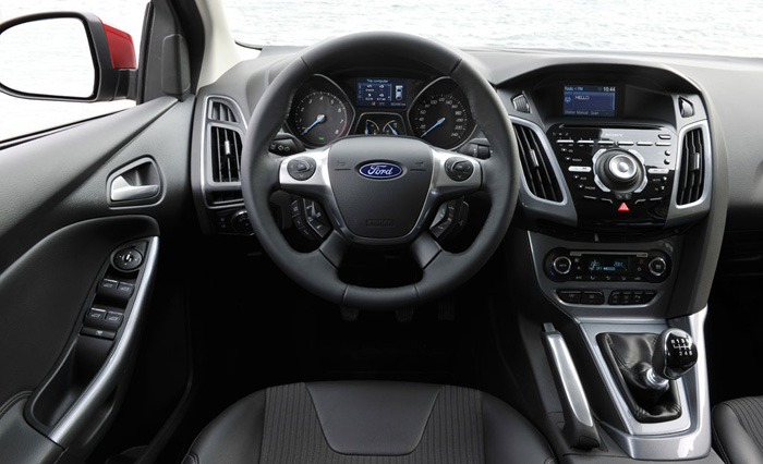 L'intérieur de la Ford Focus 2011