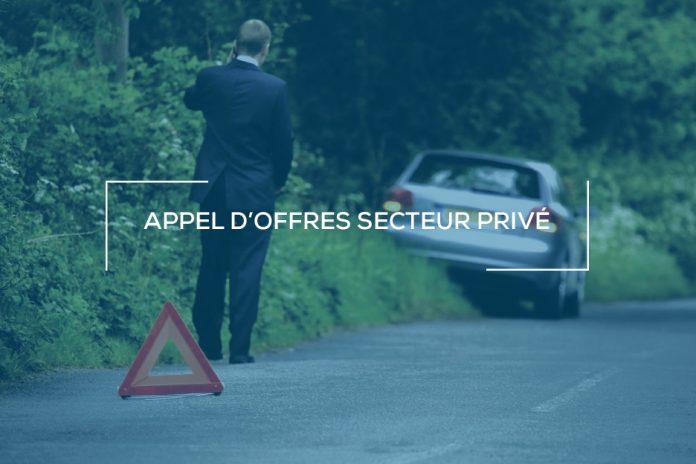 Appel d'offres secteur privé