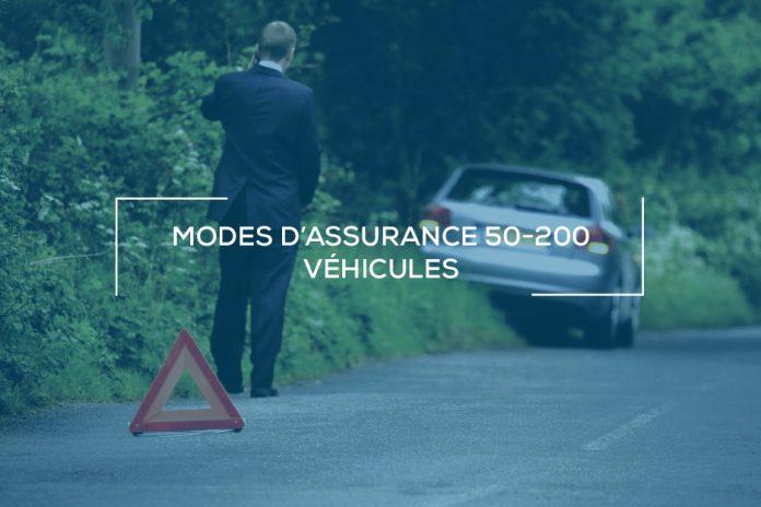 Modes d'assurance 50 à 200 véhicules