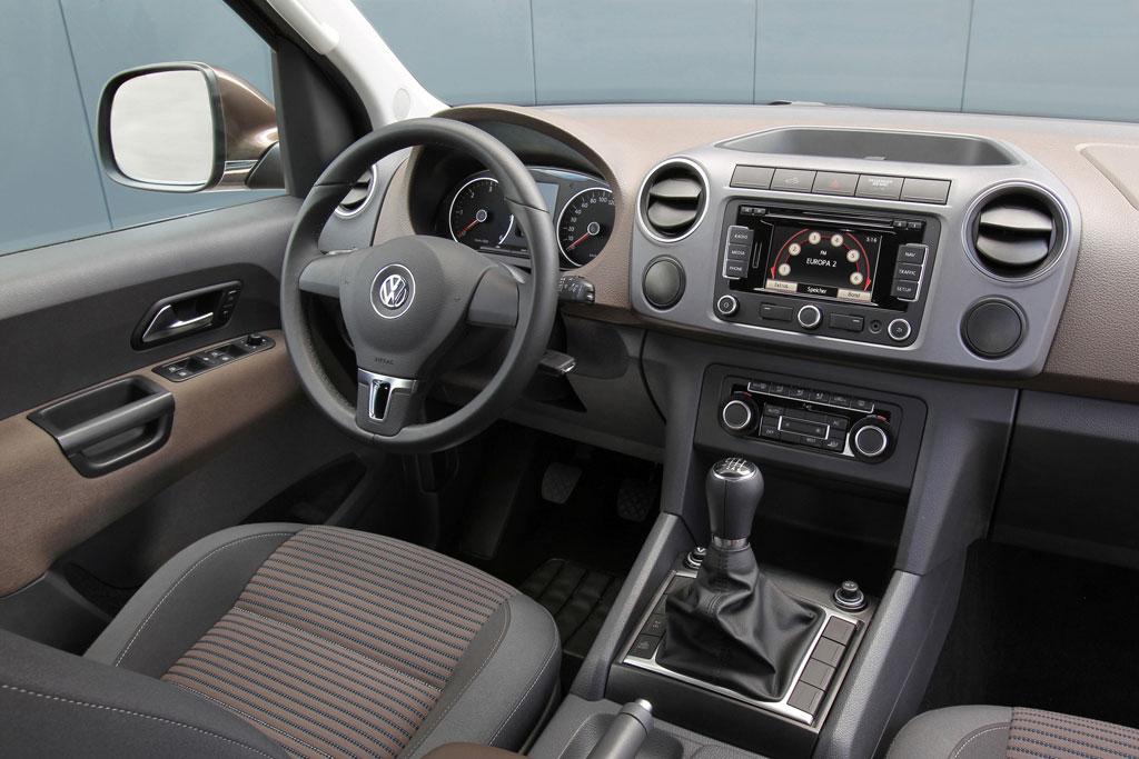 L'habitacle du Volkswagen Amarok