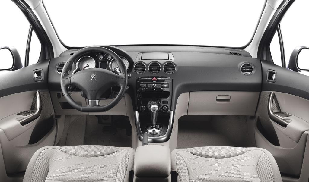 L'habitacle de la Peugeot 308