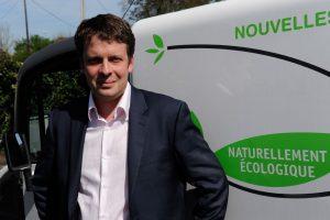 David Charrier, responsable du marché véhicule électrique, Mega