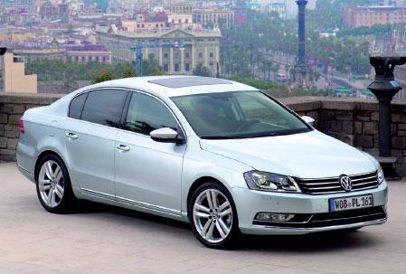 La Volkswagen Passat de nouvelle génération.