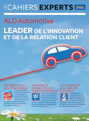 CAHIER EXPERT ALD Leader de l'innovation