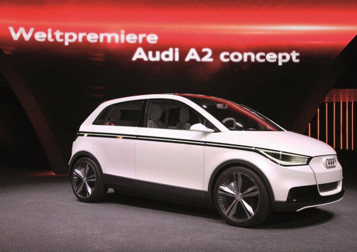 L'Audi A2 réalise un beau retour à Francfort