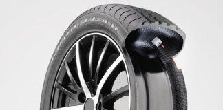 Goodyear invente le pneu qui ne se dégonfle pas