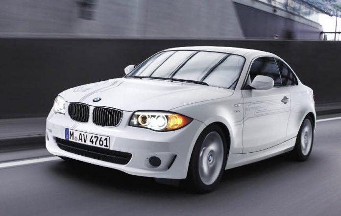 La Série 1 Coupé Active E, première BMW électrique