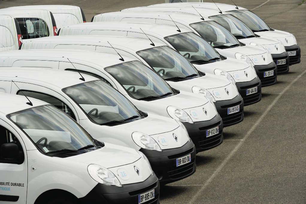 Depuis le début de l'année, 645 Kangoo Z.E. immatriculés. Un utilitaire entre autres porté par l'appel d'offres de l'Ugap qui a offert au constructeur de fournir 10 000 véhicules sur les 16 000 du premier lot.