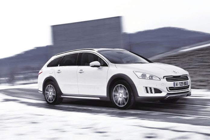 Peugeot 508 RXH : Le break en version hybride