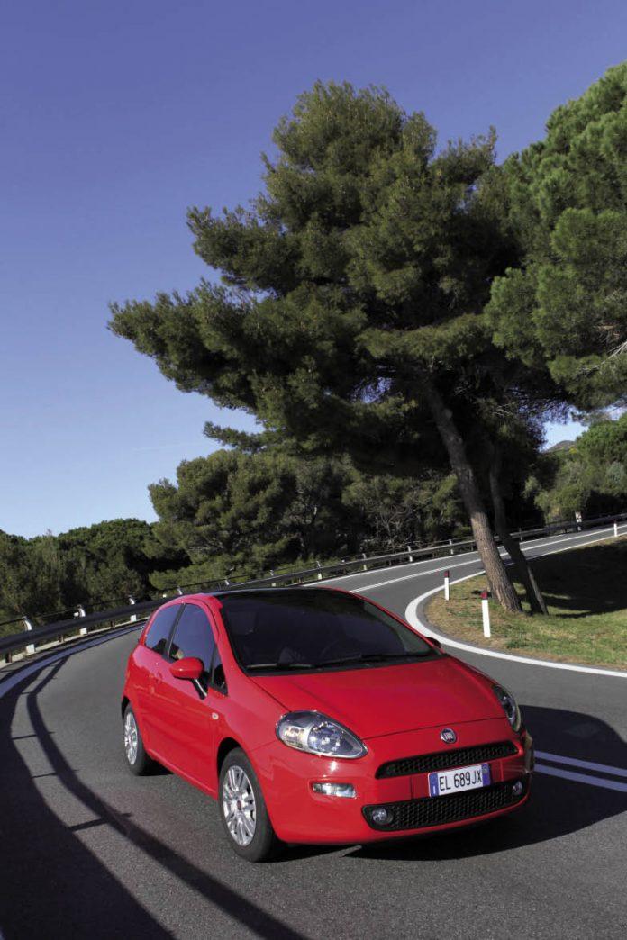 Fiat Punto VPC : émissions en baisse