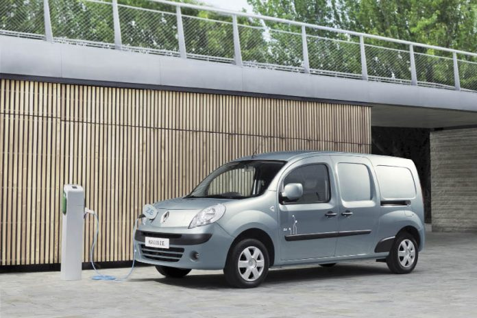 Fourgonnette : Renault Kangoo Express