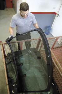 Vitrage automobile : un recyclage pas encore transparent ?