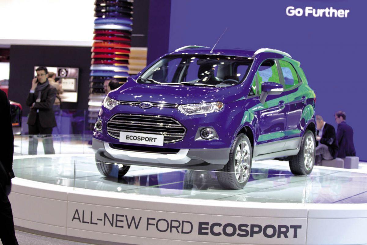 """Le crossover """"EcoSport"""" devrait proposer des prix doux et des moteurs sobres, essence Ecoboost 1.0 ou diesel TDCi 1.6 de 90 ch.devrait proposer des prix doux et des moteurs sobres, essence Ecoboost 1.0 ou diesel TDCi 1.6 de 90 ch."""