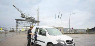 Mercedes joue la sécurité pour ses utilitaires
