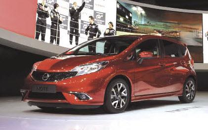 Nissan prépare l'arrivée de la Note