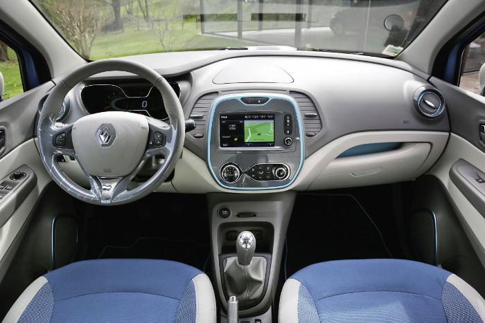 Renault Captur - habitacle