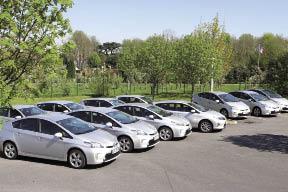 La Carterie a fait le choix de l'hybride pour ses 104 véhicules. Un objectif lié à la fois à la démarche de développement durable et aux objectifs économiques du spécialiste des cartes postales.