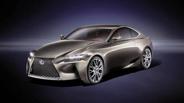 Concept Lexus LF-CC : concentré d'IS