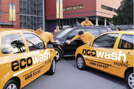Lavage automobile : les entreprises optent pour le nettoyage à sec