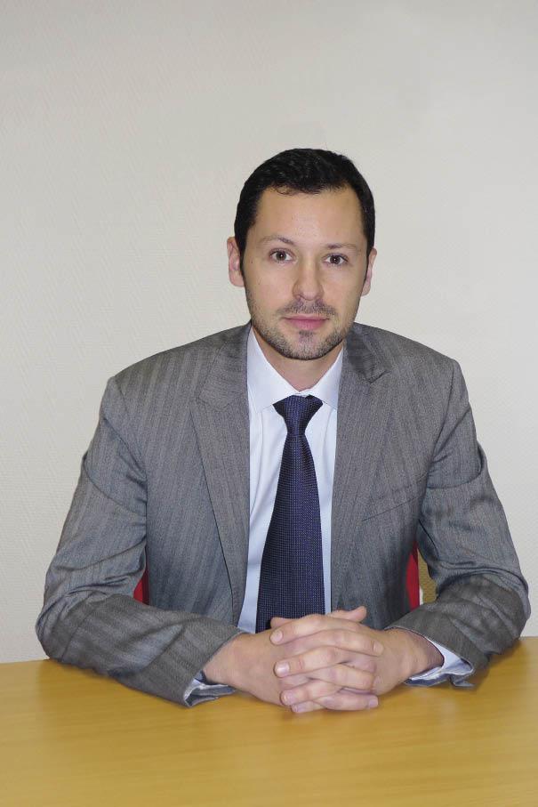 Vincent Ameye, directeur administratif et financier, La Carterie