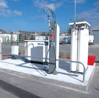 Nantes : former à la conduite des véhicules GNV et GPL