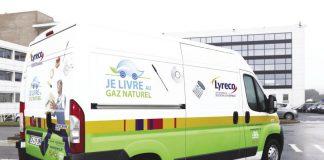 Lyreco véhicule gaz