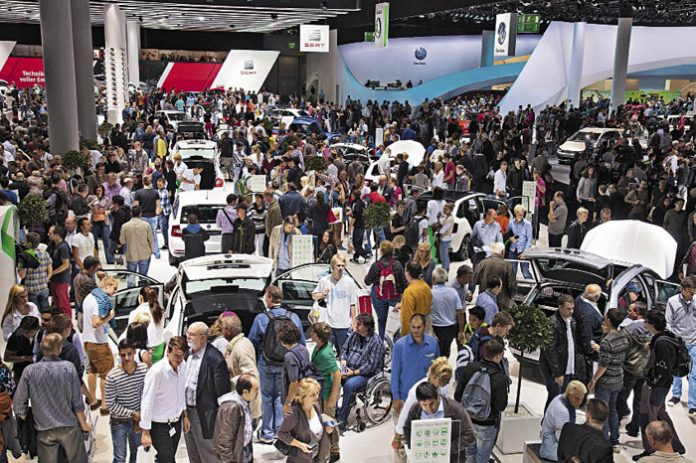 Salon de Francfort 2013 : à la poursuite du CO2