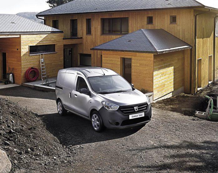 Fourgonnettes : Dacia Dokker Van