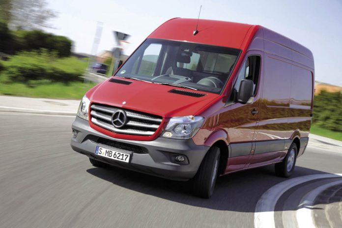 Mercedes : le Sprinter en pole position