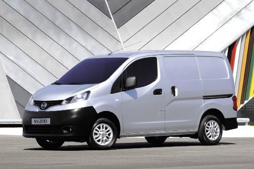 Nissan : les NV200 et NV400 en forte progression