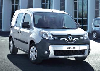 Renault : le Kangoo Z.E. en fer de lance
