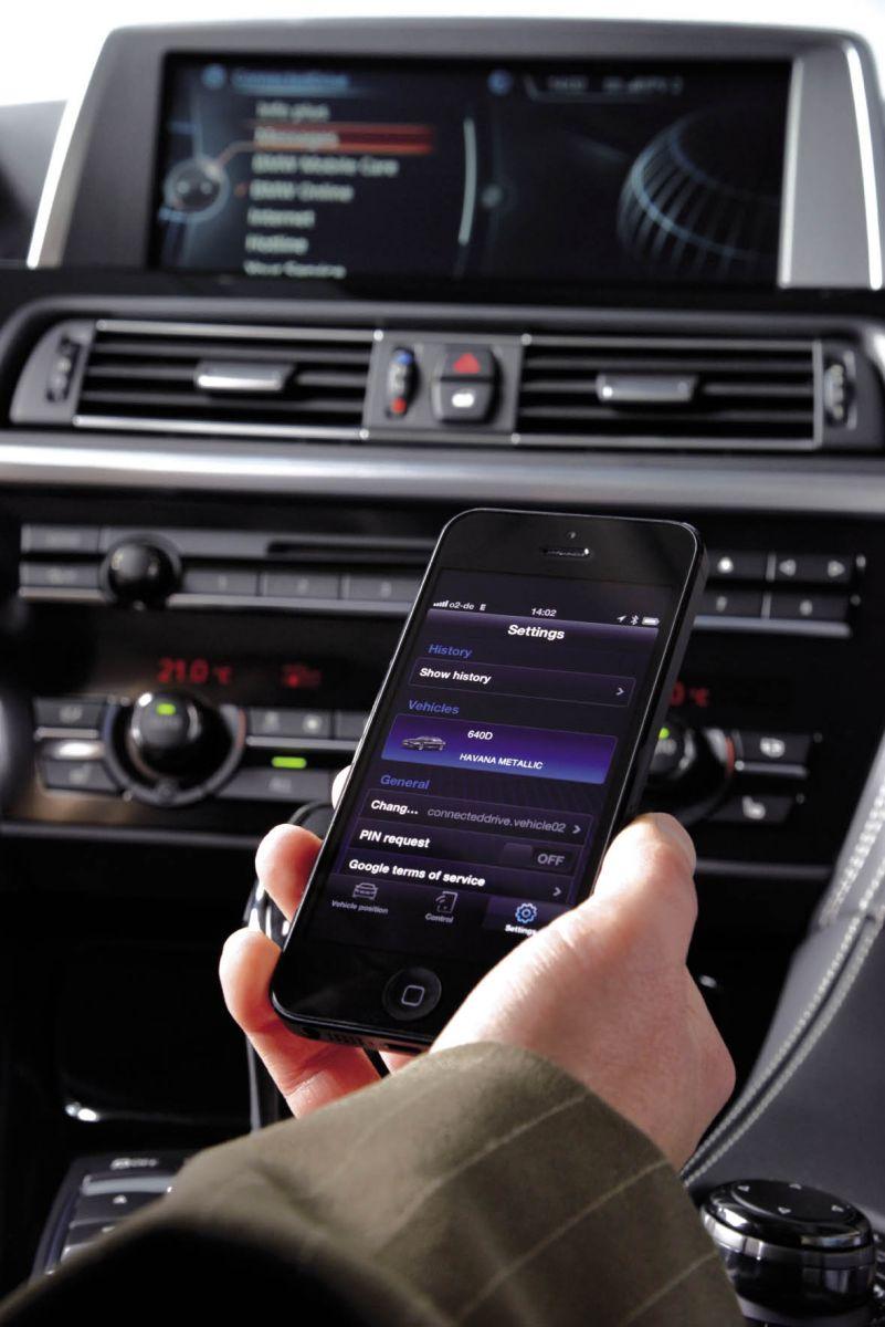 BMW, smartphone