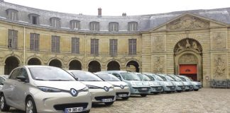Renault : une flotte redessinée en vert