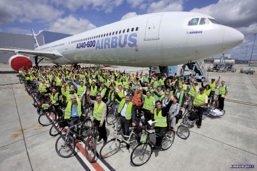 Airbus : vol direct vers la mobilité verte