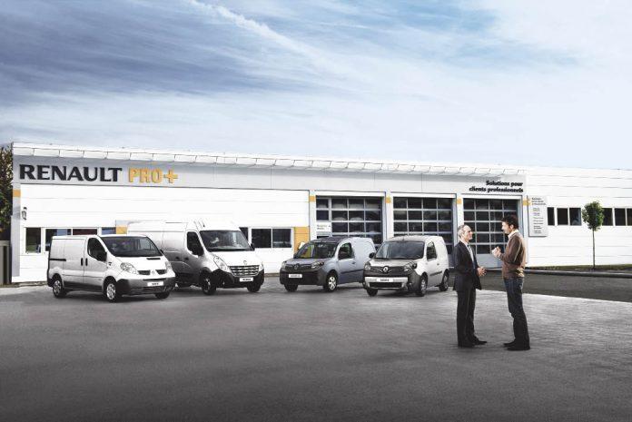 Renault Pro+ : le réseau des professionnels