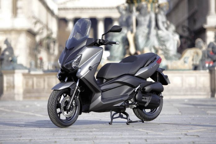 Yamaha Xmax 125/MBK Evolis 125 : made in France