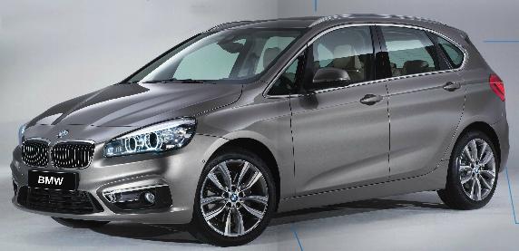 BMW Série2 Active Tourer : le monospace haut de gamme