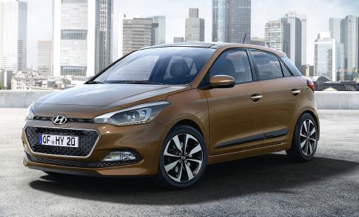 Pour le coréen Hyundai, Paris offre une première mondiale à la toute nouvelle i20. « Cette génération nous positionne mieux dans le marché des entreprises », avance Dominique Gobin, directeur ventes flottes et VO.