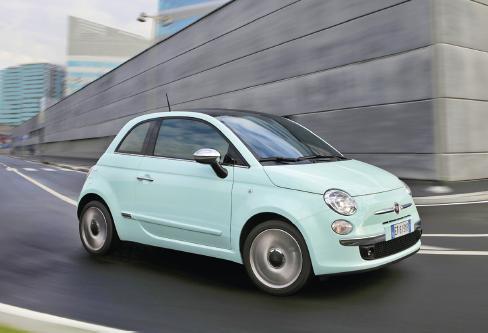 Dernier modèle diesel parmi les citadines, la 500 de l'italien Fiat vient justement de passer sous la barre des 100 g/km de CO2 : le 1.3 MultiJet 95 ch étrenne de nouveaux injecteurs et s'affiche à 95 g.