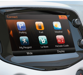 Peugeot - interface Mirror Screen