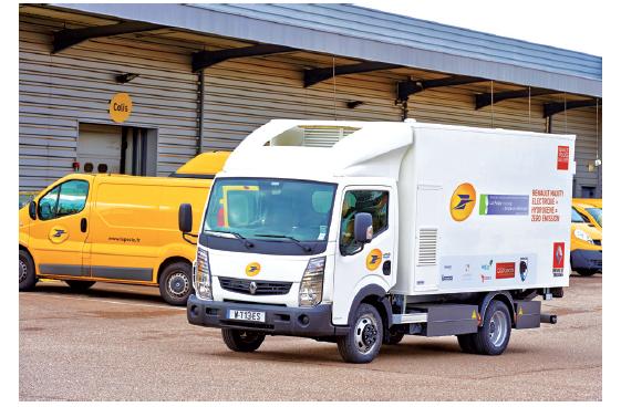 Renault Trucks Maxity Electric Hydrogen, La Poste