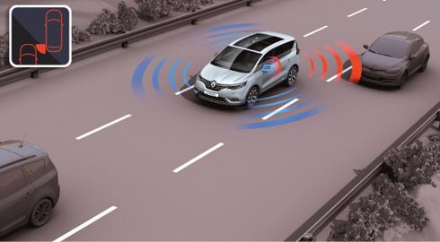 Renault Espace – Pack Visio System avec avertisseur d'angle mort