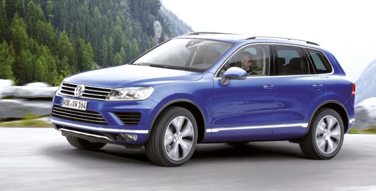 Côté motorisations, le Volkswagen Touareg se dote du V6 3.0 TDI de 204 ch à 173 g (à partir de 54 370 euros) ; bloc qui existe en version 262 ch à 180 g dans les finitions les plus huppées (à partir de 69 220 euros).