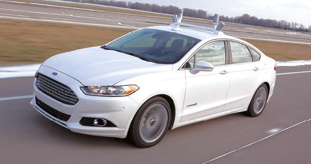 L'autonomie du véhicule, c'est pour tout de suite !