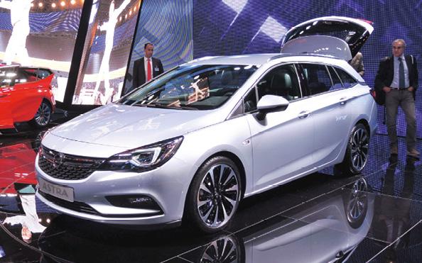 La toute dernière version de l'Astra d'Opel s'équipe du 1.6 CDTi en trois niveaux de puissance : 95, 110 et 136 ch, tous sous la barre des 100 g. La meilleure performance revient à un CDTi 110 qui pointe à 90 g.