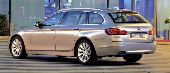 Essai flash << BMW 520d Touring : bagages en soute