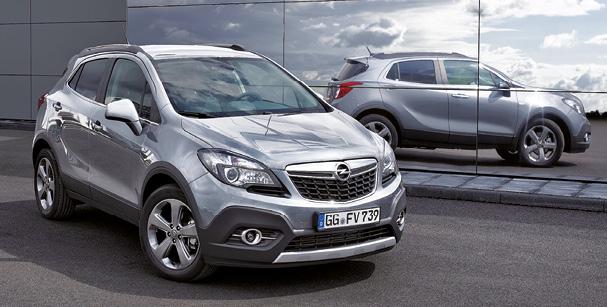 L'Opel Mokka profite des bienfaits d'un nouveau moteur. En 110 ou 136 ch, ce 1.6 CDTi ecoFLEX affiche 109 g, respectivement à partir de 22 900 et 25 050 euros en 4x2. Le 136 ch existe en 4x4 à partir de 29 150 euros.