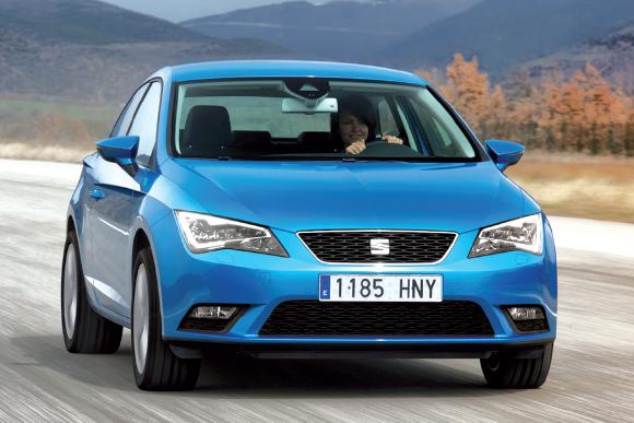 """Pour la """"Seat"""" Leon, les plus faibles émissions sont l'apanage du 1.6 TDI 110 en Ecomotive, soit 89 g en 5 portes (20 712 euros, kit en supplément). L'entrée de gamme pointe à 99 g (à partir de 18 516 euros, kit en supplément)."""